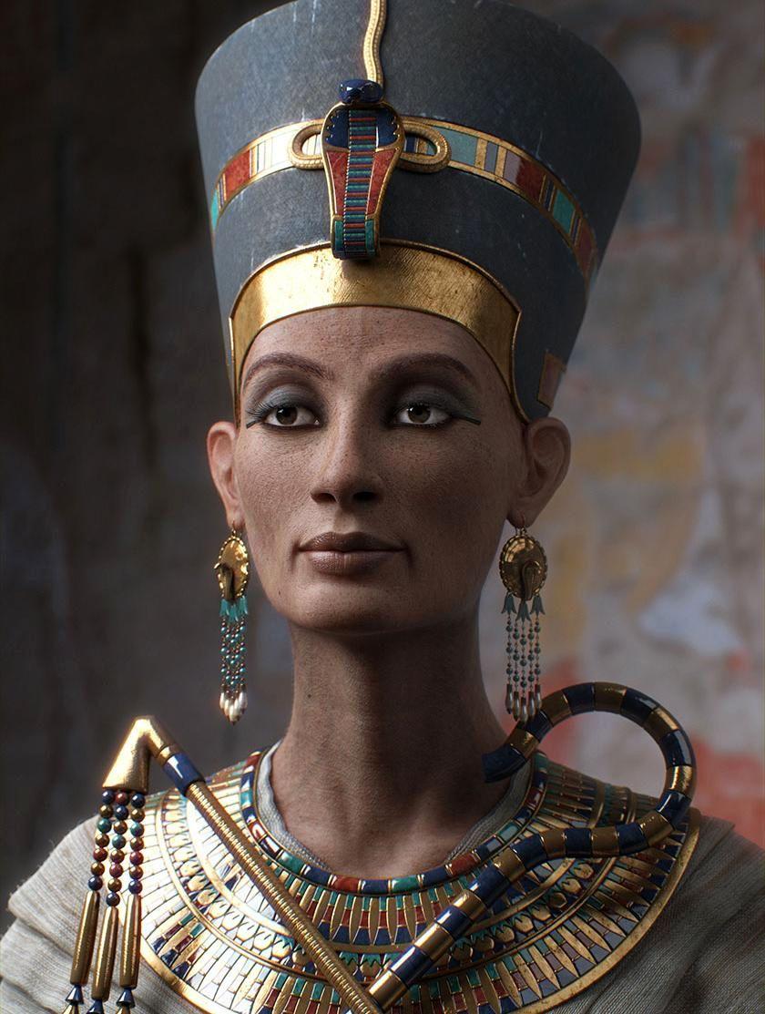 Загадка Нефертити, что вы хотели и не хотели знать о великой царице