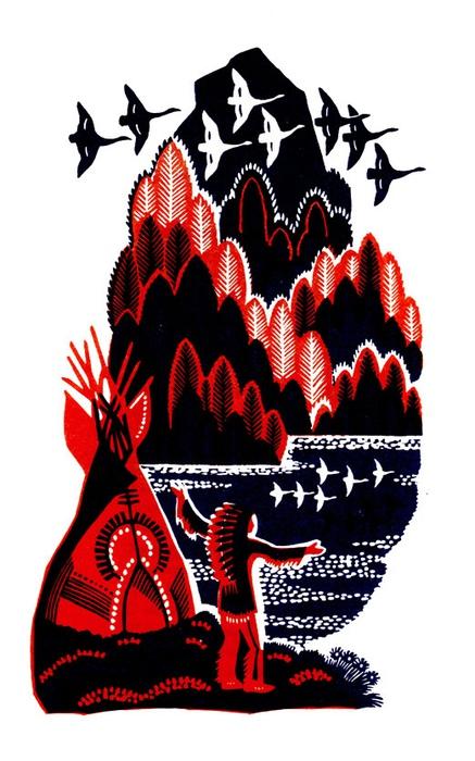 История Гайавате от Лонгфелло ничего не расскажет о взглядах индейцев.